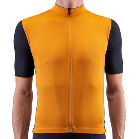 Isadore Signature Cycling 2.0 Maglia Jersey A Maniche Corte Uomo, orange/black